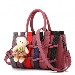 1872 India Stylish Shoulder Handbag For Women With Little Bear