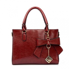 1838 2019 Popular Top Handle Lady Shoulder Bag With Bowknot