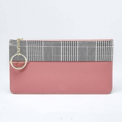 PU2054 Young Lady Wholesale Or Custom Wallet Hot Selling Colorful Card Holder