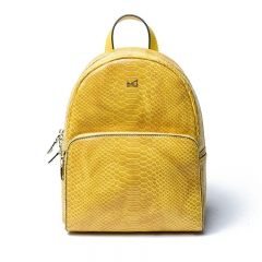 PU2177 Wholesale OEM Casual Snake Skin Printed Large Capacity Outdoor School Girls Backpack