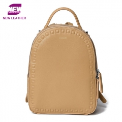 PU2183 High quality Large capacity Rivet Studded School Travel Women Backpack