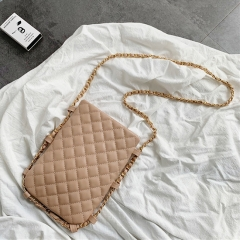 PU2220 Ladies Phone bag 2019 New Design Quilted handbag With Chain