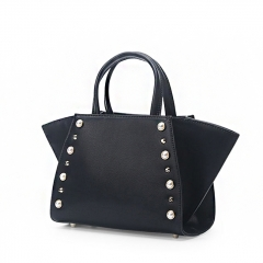LT1953 Newest products custom design cow leather crossbody bag luxury designer women handbag with pearl