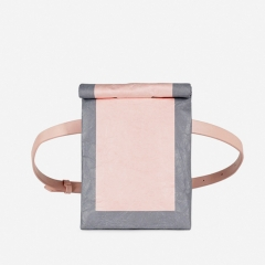 PU2238 2019 New fanny pack fashion spring and summer vintage design multicolor Kraft paper Waist Bag for women