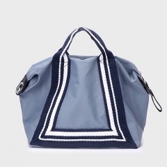 PU2269 2019 Classical large capacity Nylon Big Tote Women bags With Striped Strap