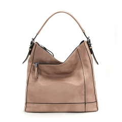 PU2310 Factory custom design large capacity hobo handbags ladies leisure shoulder hand bag