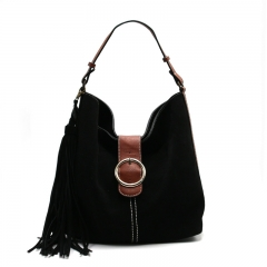 PU2314 Custom new hobo design ladies handbag fashion tassels tote shoulder bag for women