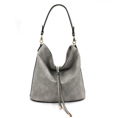 PU2315 Latest design women hobo bags leisure style tote shoulder handbag wholesale